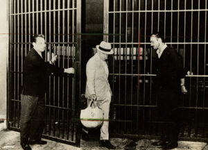 uscita dal carcere di Gino Amleto Meneghetti