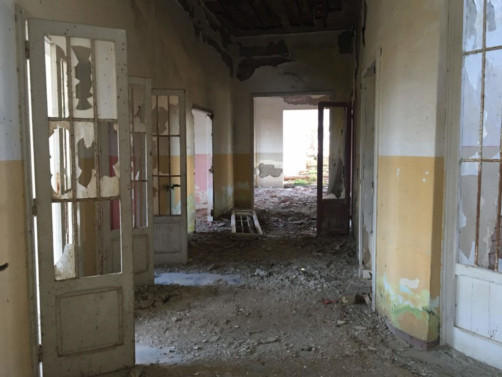 Padiglione Tanzi, interno.