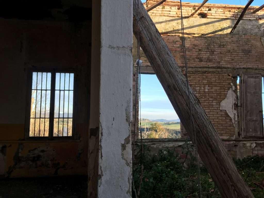 Padiglione Tanzi, secondo piano.