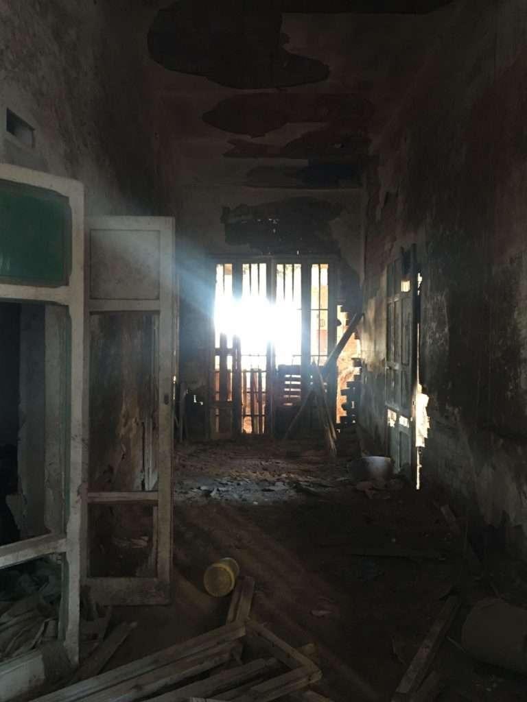 Padiglione Tanzi, interno