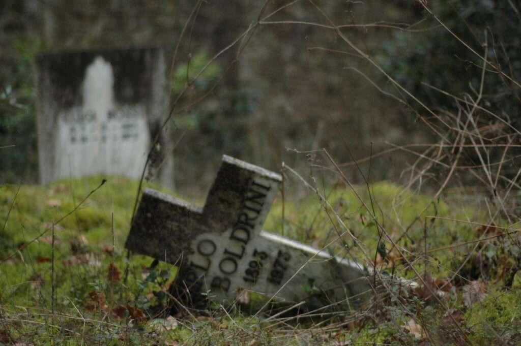 sanfinocchi, il cimitero dei matti
