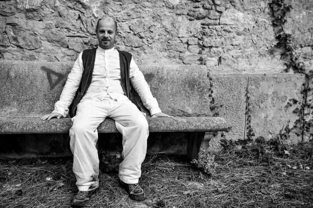 """Remo Lenci: Essere Fernando """"NOF4"""" Nannetti © Lia Liparesi"""