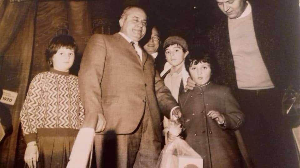 La festa della Befana e il Manicomio di Volterra 1970 © Samanta Baroncini
