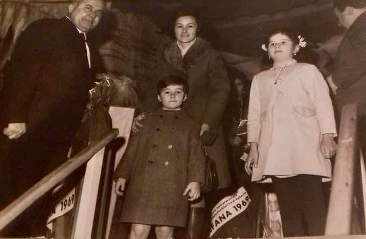 La festa della Befana e il Manicomio di Volterra - 1969 © Samanta Baroncini